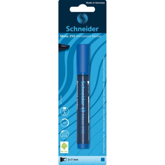 Blister Marker Schneider Maxx 250 Albastru