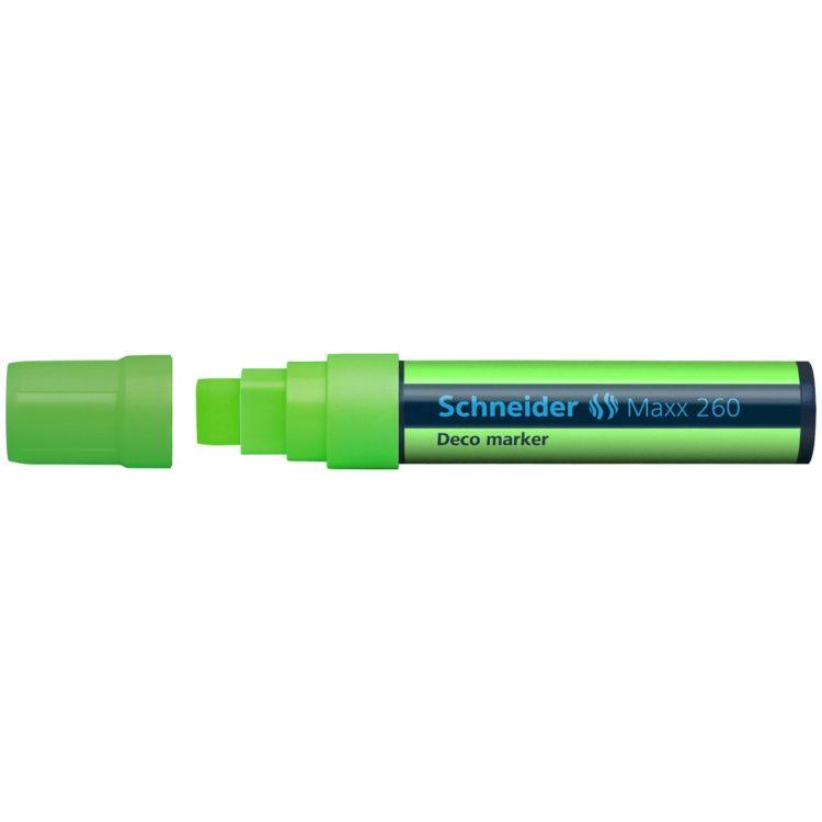 Deco Marker Schneider Maxx 260 Verde