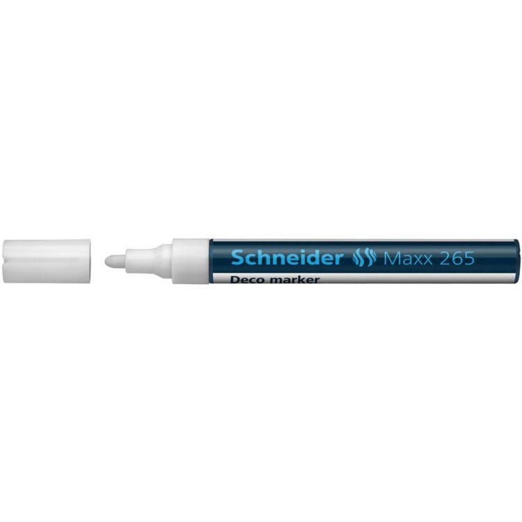 Deco Marker Schneider Maxx 265 Alb