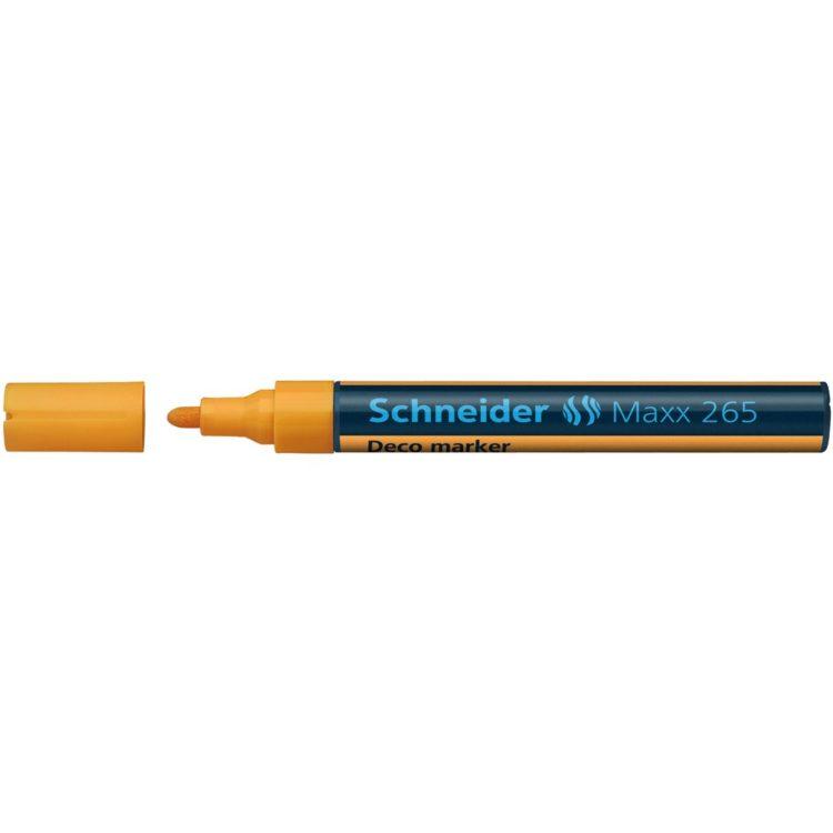 Deco Marker Schneider Maxx 265 Portocaliu