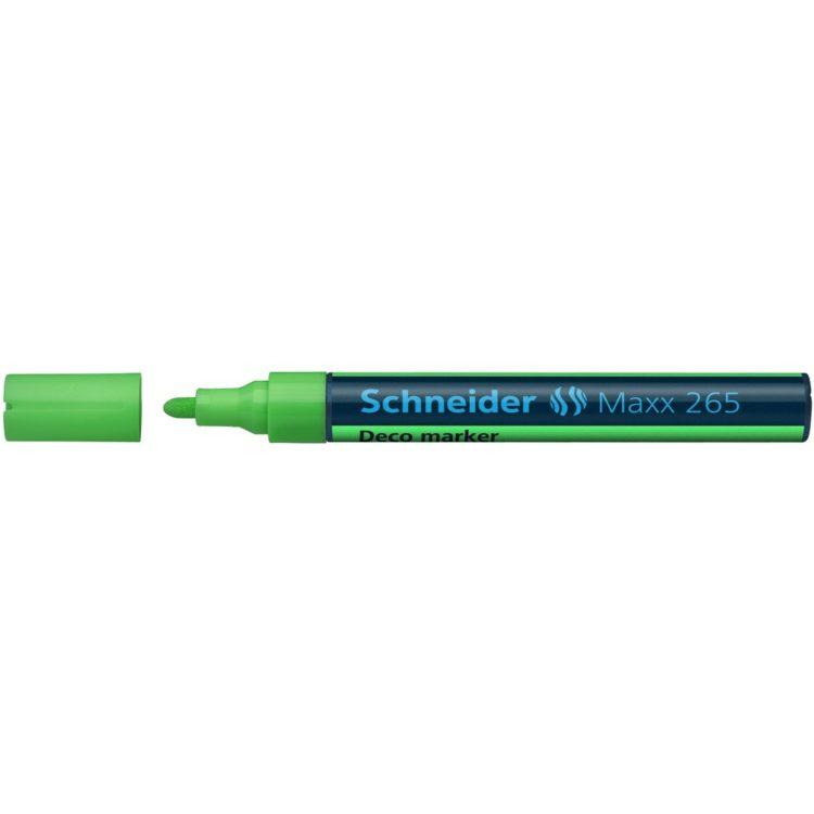 Deco Marker Schneider Maxx 265 Verde