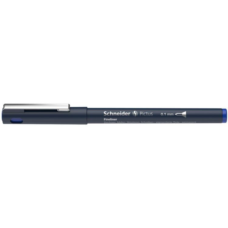 Fineliner Schneider Pictus 0,1 mm Albastru 1