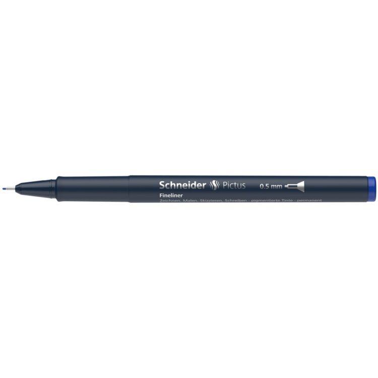 Fineliner Schneider Pictus 0,5 mm Albastru 3