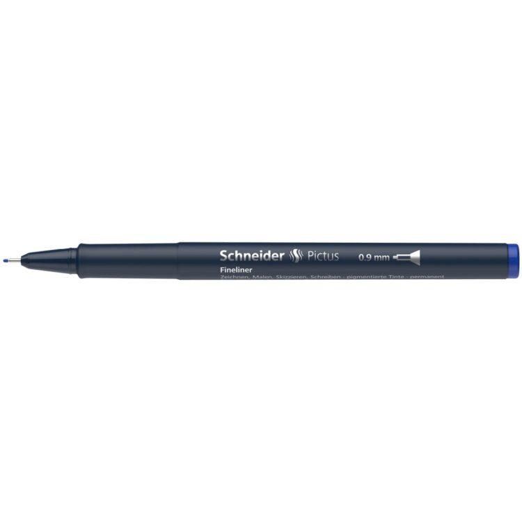 Fineliner Schneider Pictus 0,9 mm Albastru 3