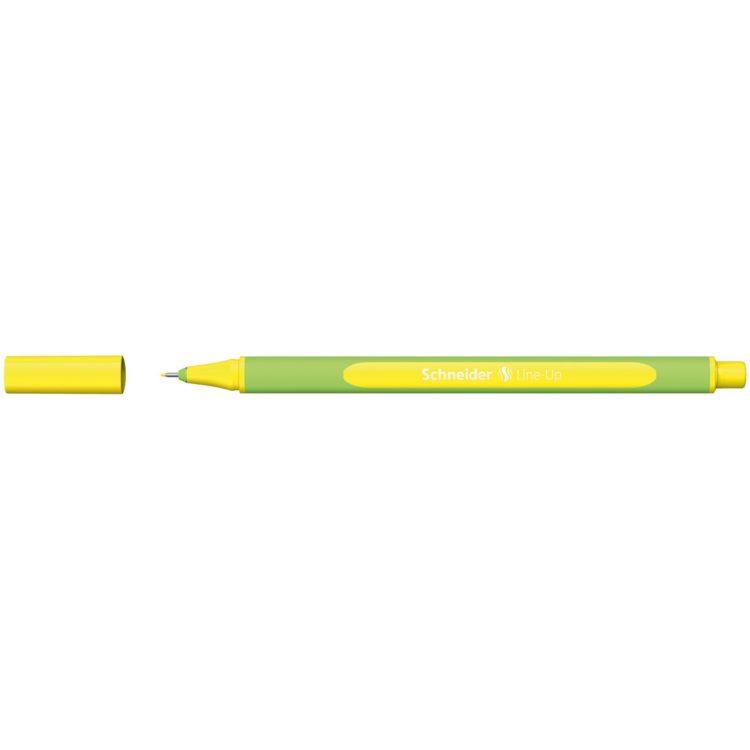 Liner Schneider Line-Up Galben-Neon