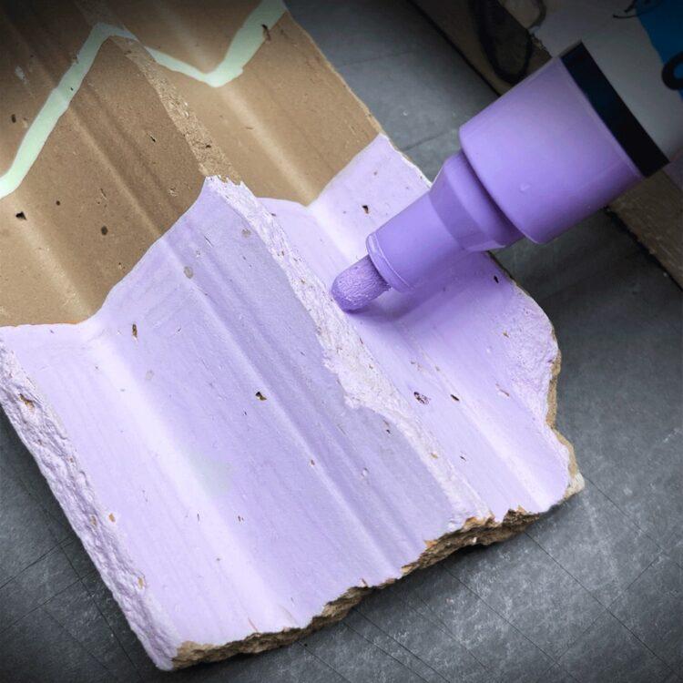 Marker cu vopsea acrilică Paint-It 320 Schneider exemplu 3