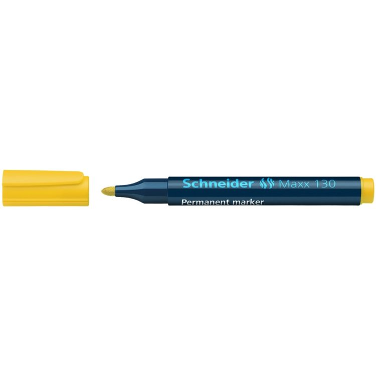 Marker Schneider Maxx 130 Galben