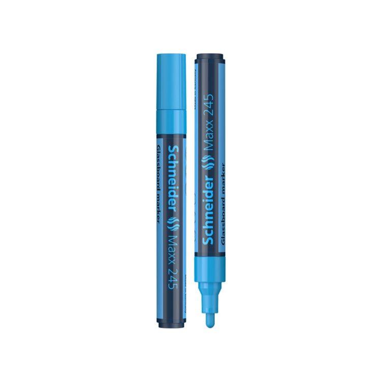 Marker pentru sticlă Schneider Maxx 245 Albastru