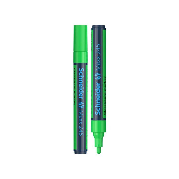 Marker pentru sticlă Schneider Maxx 245 Verde