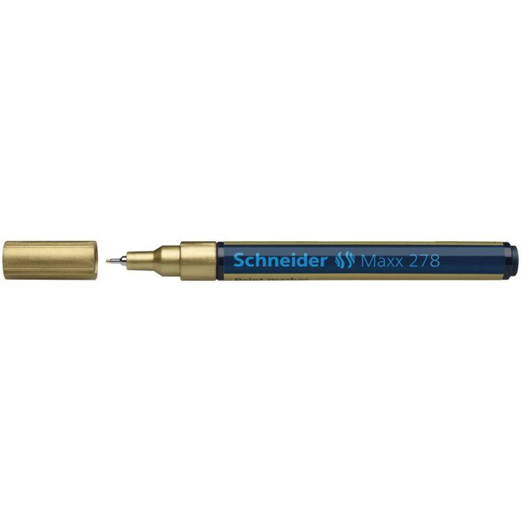 Paint Marker Schneider Maxx 278 Auriu