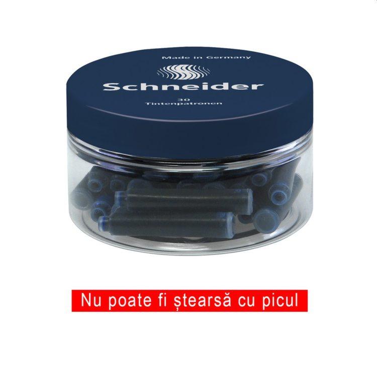 Patron cerneală Schneider albastru închis 30/borcan