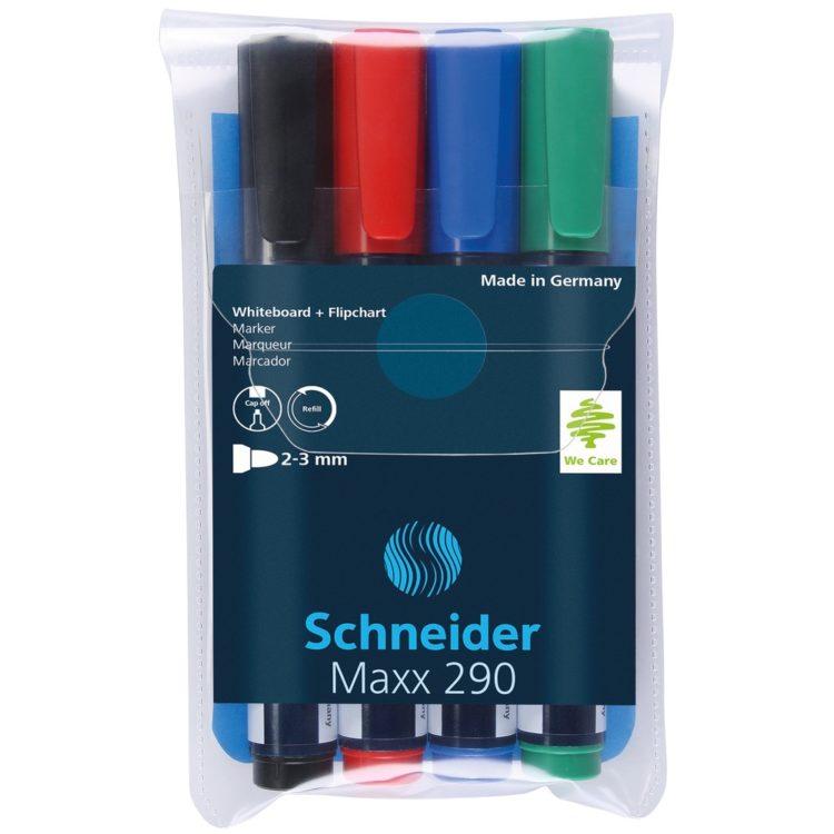 Set Board Marker Schneider Maxx 290