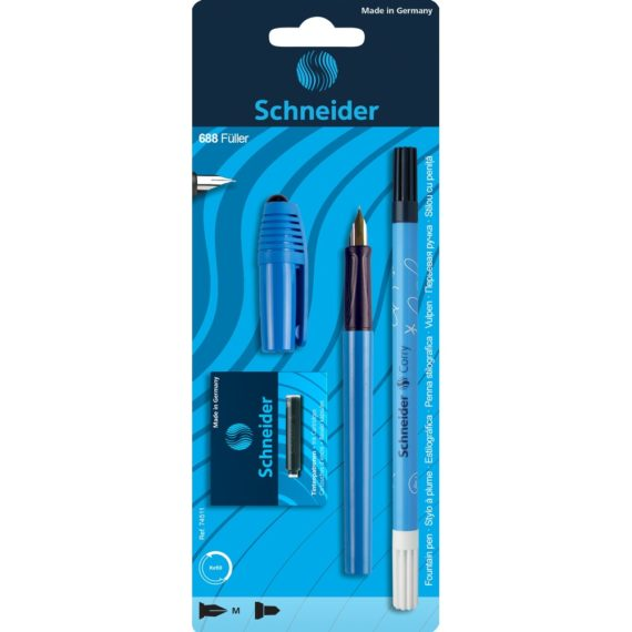 Set Stilou Schneider 688 Albastru