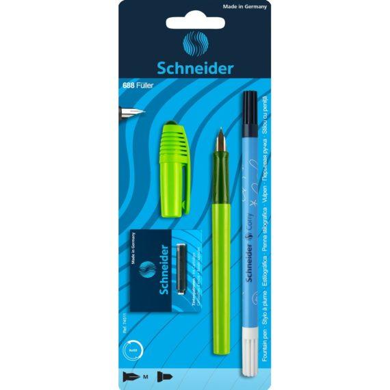 Set Stilou Schneider 688 Verde