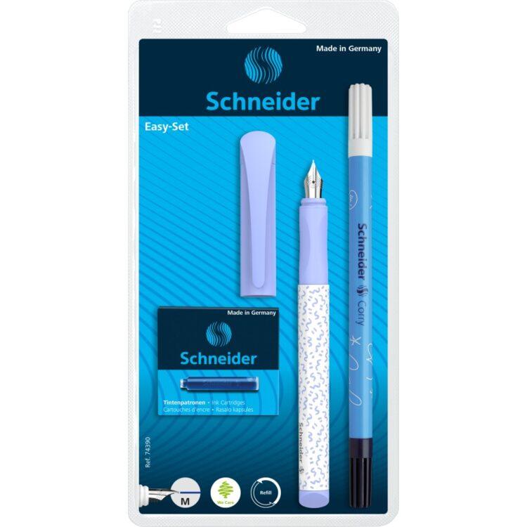 Set Stilou Schneider Easy Corry 2021 Bleu
