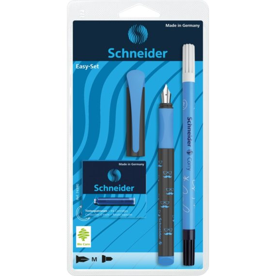 Set Stilou Schneider Easy Corry Albastru