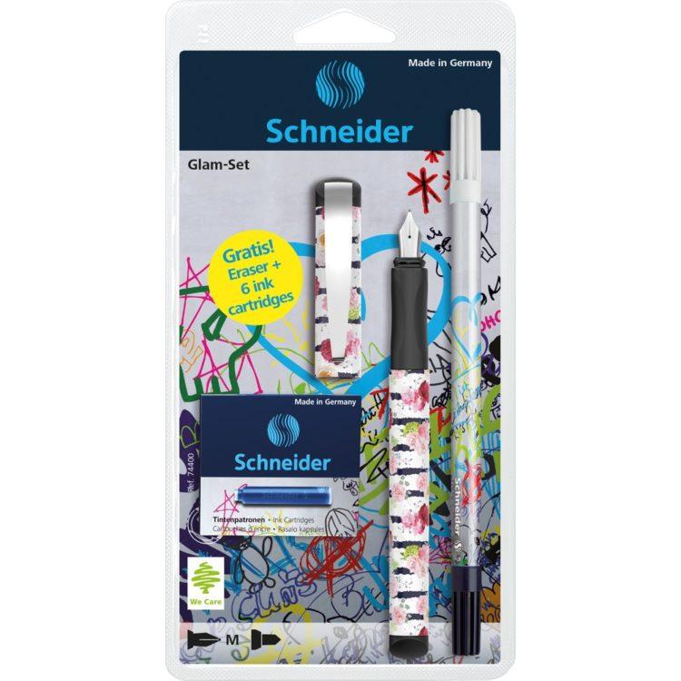 Set Stilou Schneider Glam Flowers
