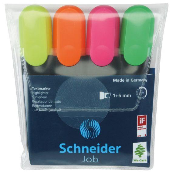 Set Textmarker Schneider Job 4 buc