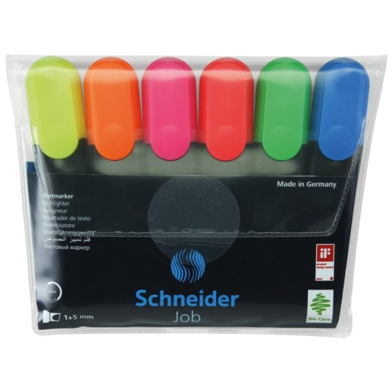 Set Textmarker Schneider Job 6 buc