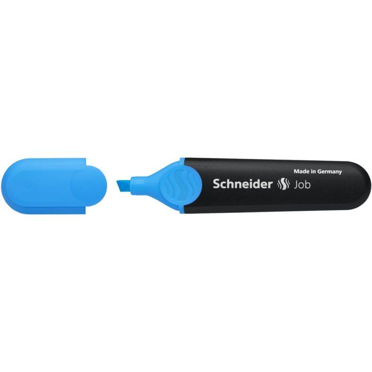 Textmarker Schneider Job Albastru