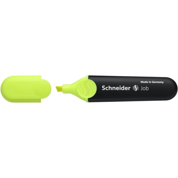 Textmarker Schneider Job Galben