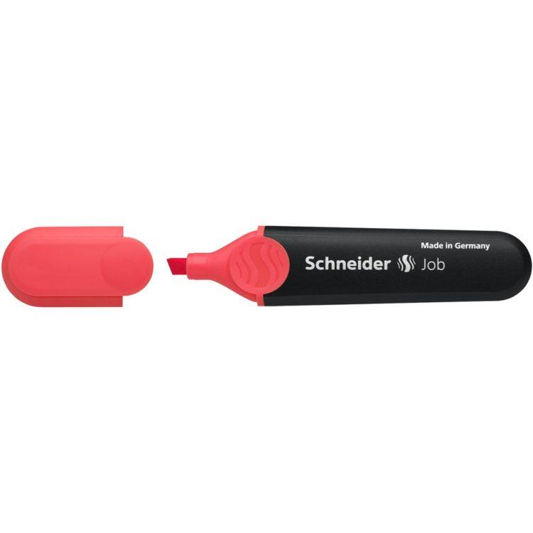 Textmarker Schneider Job Roșu