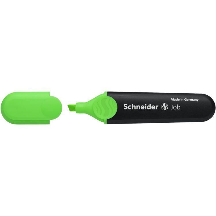 Textmarker Schneider Job Verde