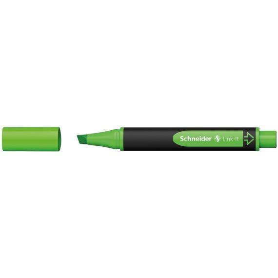Textmarker Schneider Link-It Verde
